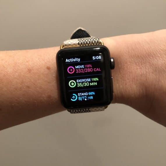Apple Watch 3 Activity App Details