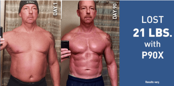 P90X Results for Men