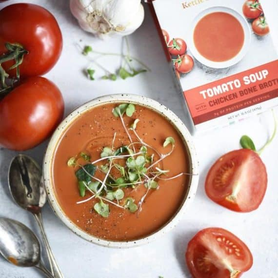 Kettle and Fire Tomato Soup with Bone Broth