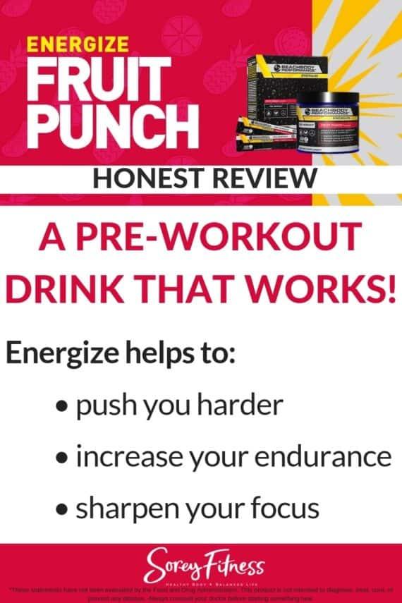 beachbody energize fruit punch flavor review (