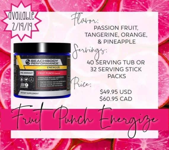 energize fruit punch