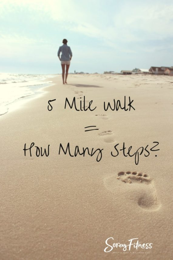 how many steps in 5 miles