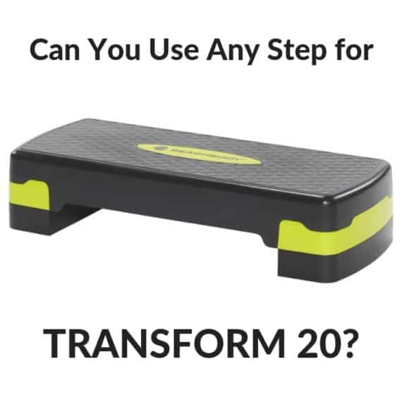 Can I Use Any Step for Transform 20?