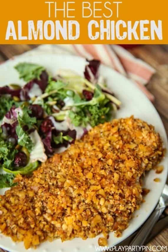 Low Carb Recipes Almond Chicken