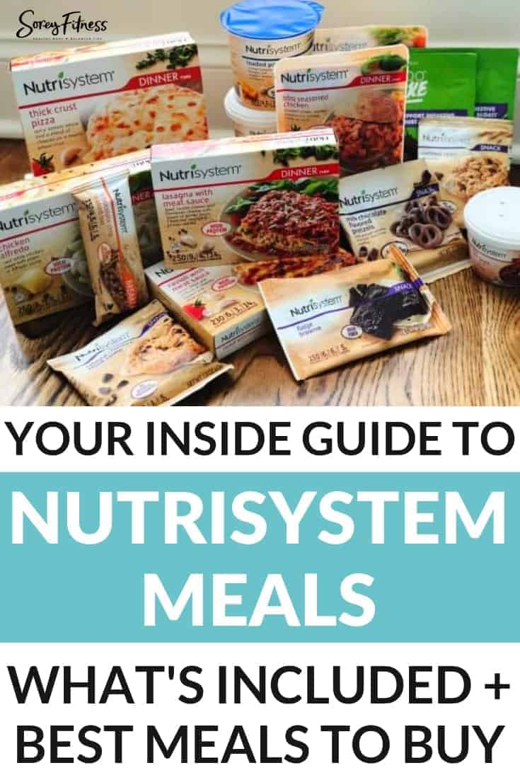 Nutrisystem Meals: What's Included & The Tastiest Meals to Order