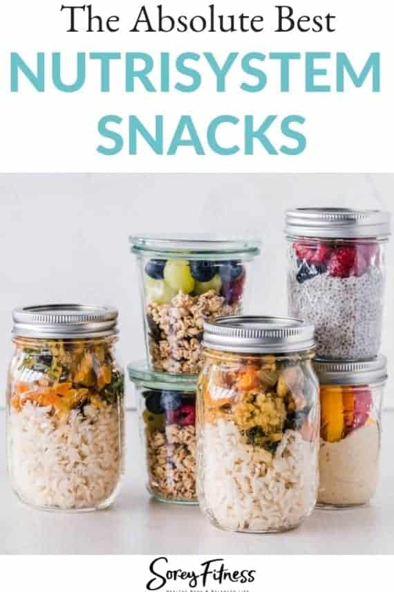 nutrisystem snack ideas - what to eat