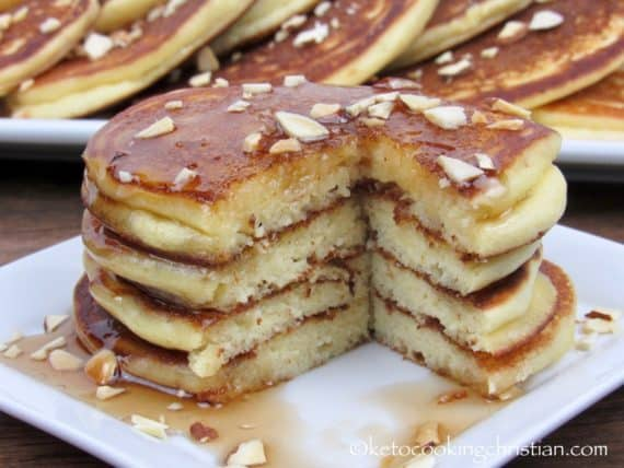 Ricotta Almond Pancakes