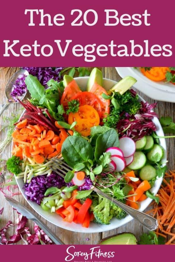 20 Best Keto Vegetables Hero Image