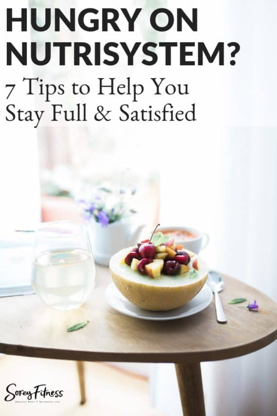 7 tips to not feel hungry on nutrisystem