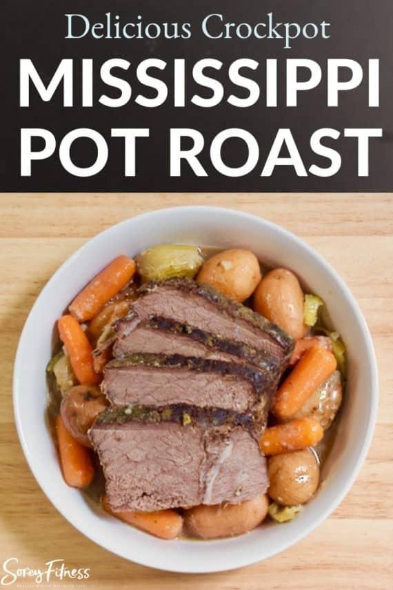 Mississippi Pot Roast in Slow Cooker