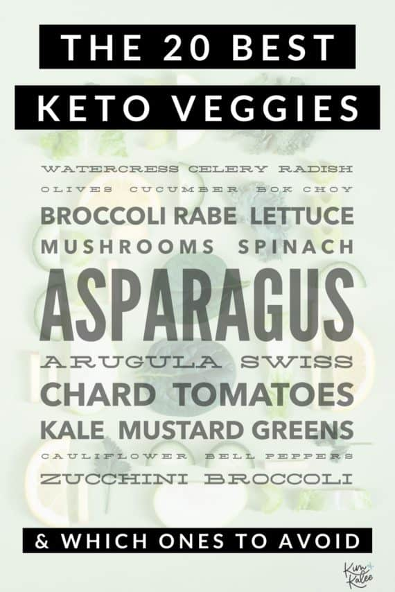 keto diet veggies