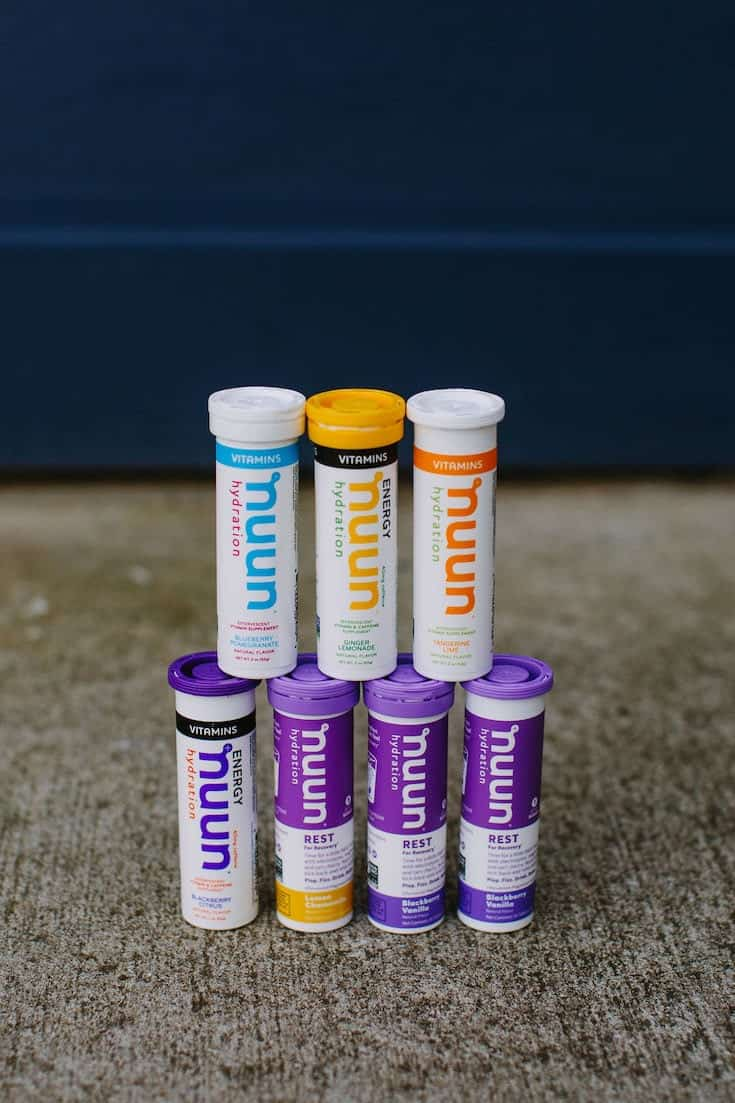 Nuun Review on Vitamins, Immunity and Rest Tablets