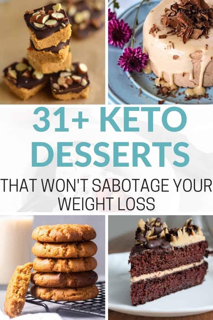 31 keto diet desserts that won't sabotage your weight loss