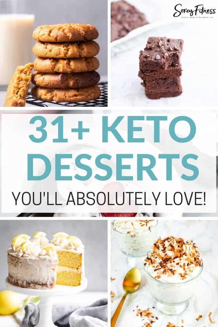 keto friendly desserts