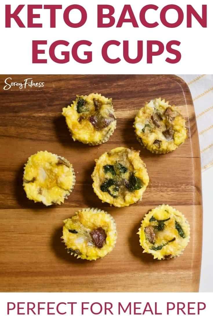Bacon egg cups keto friendly-