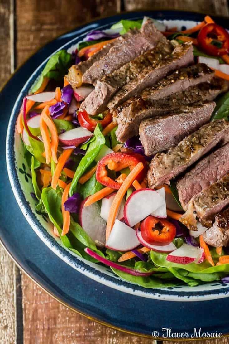Thai Steak Grilled Salad
