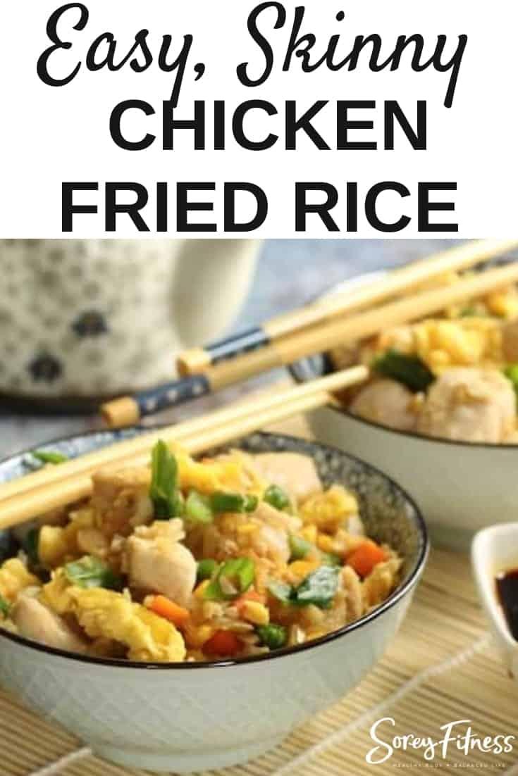skinny cauliflower chicken fried rice recipe