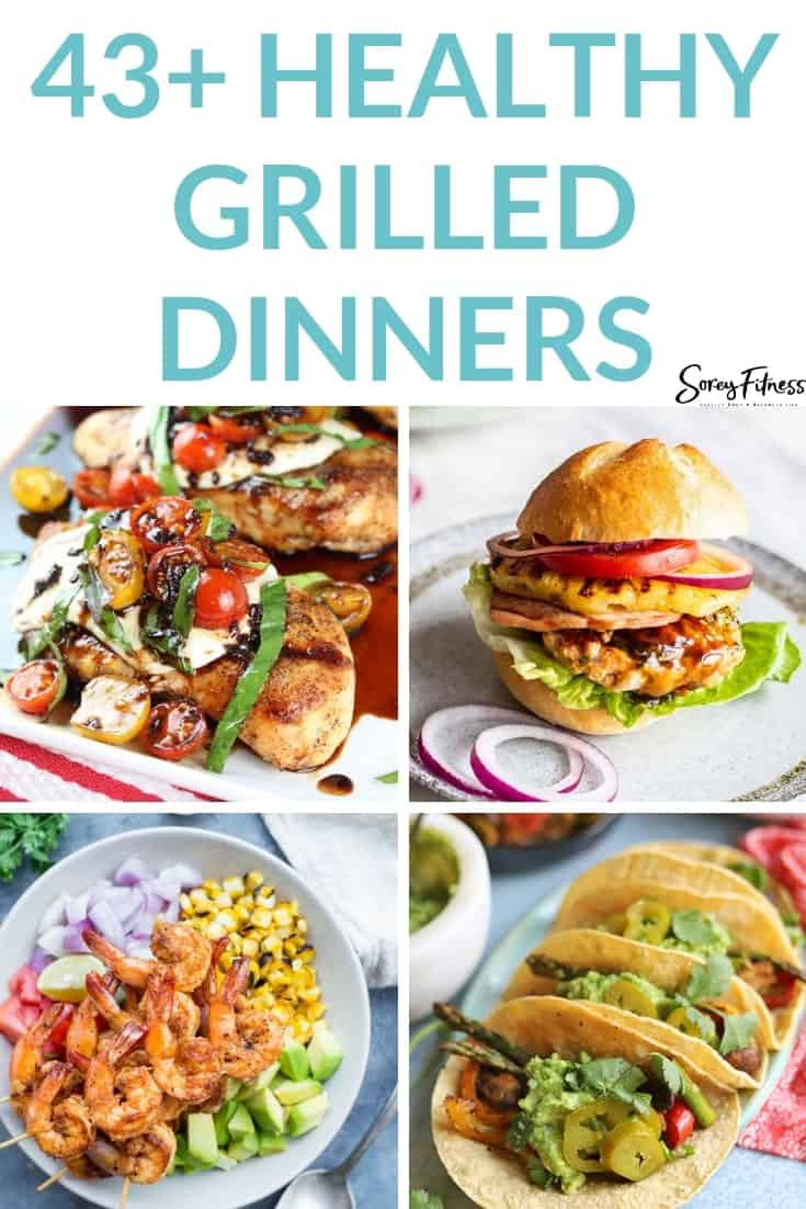 healthy grilled dinners