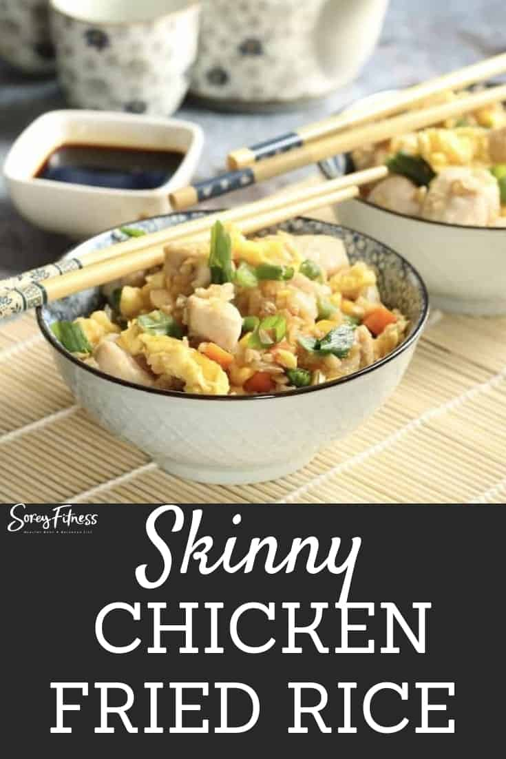 skinny chicken fried rice recipe