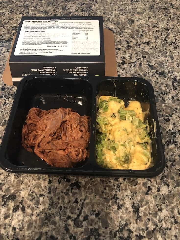 Keto BBQ Brisket Pot Roast with Cheesy Vegtables