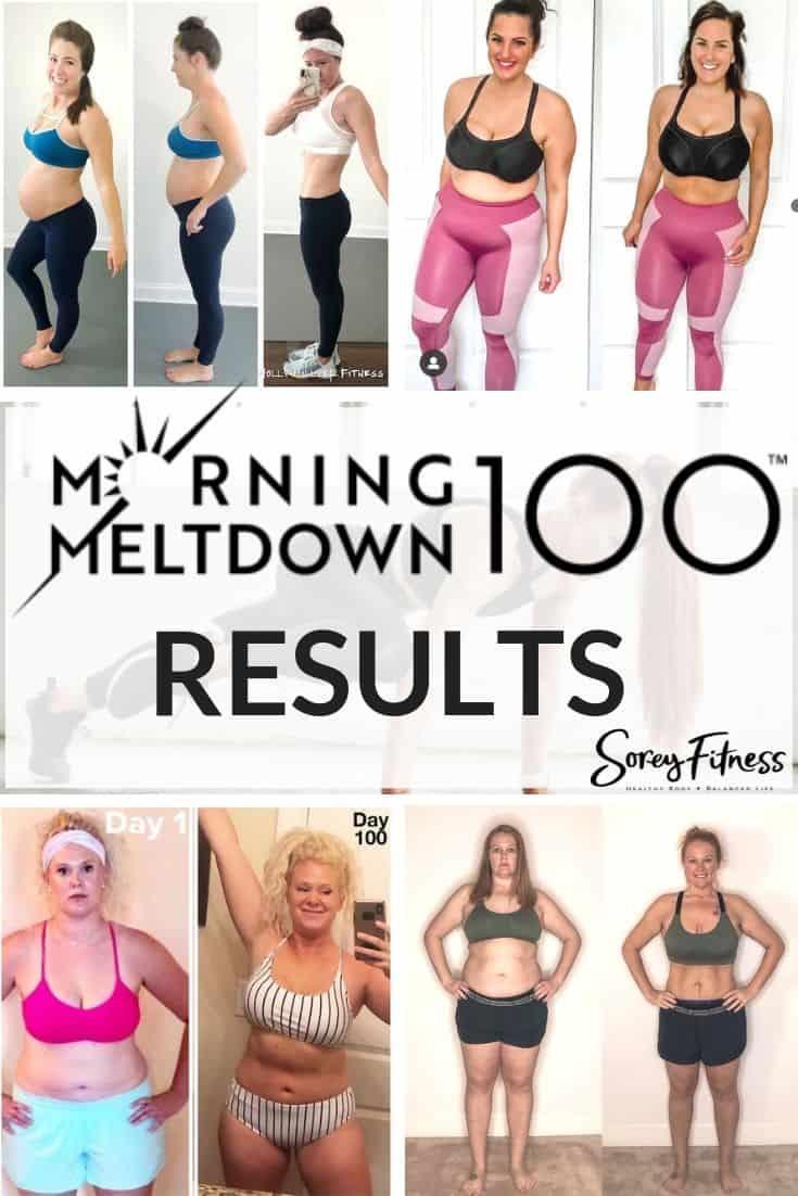 Man's Morning Meltdown 100 Results