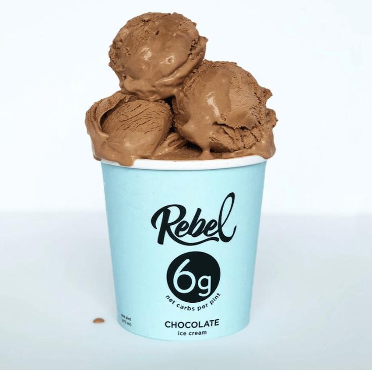 Rebel Creamery Chocolate Keto Ice Cream Review