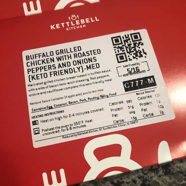 keto friendly buffalo grilled chicken meal