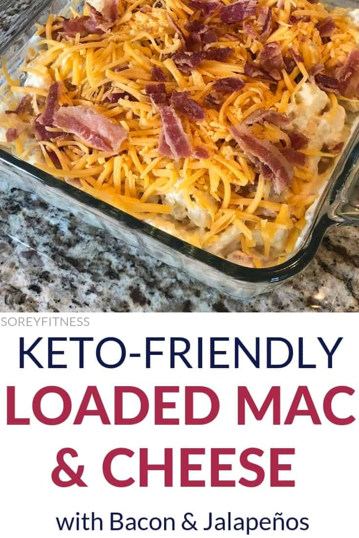 loaded Cauliflower Mac and Cheese Recipe with Bacon and Jalapeños