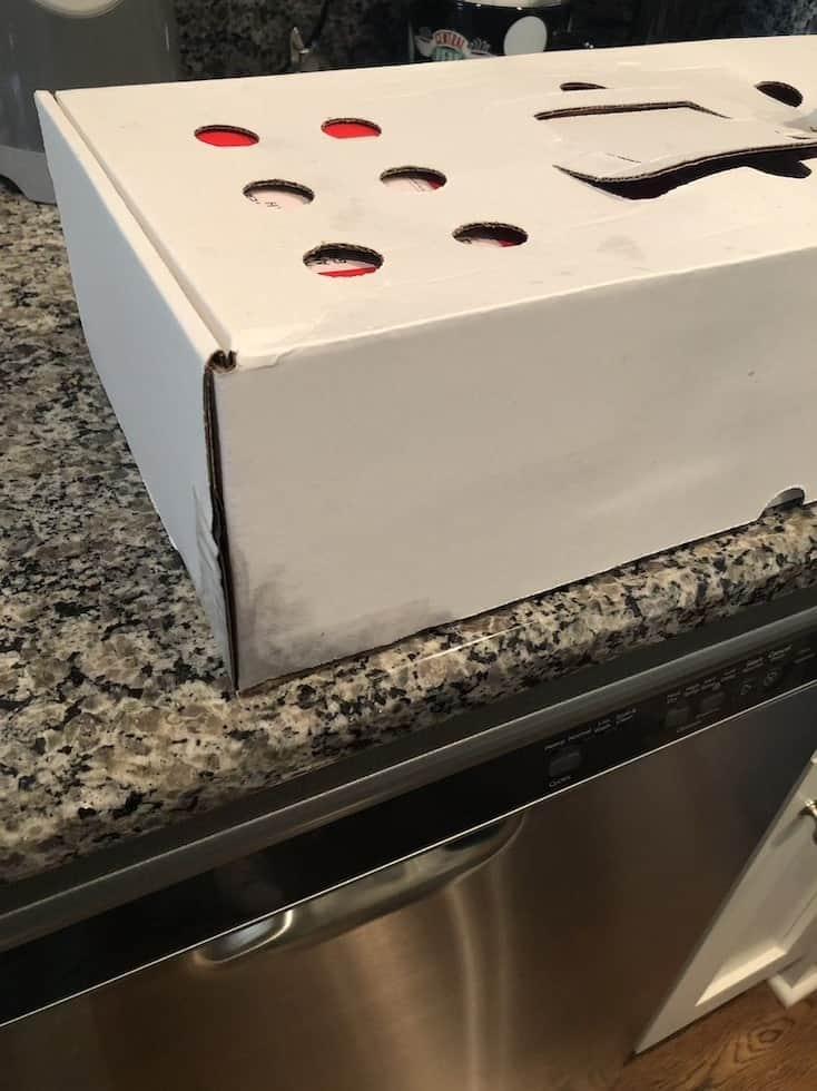 kettlebell kitchen packaging warm