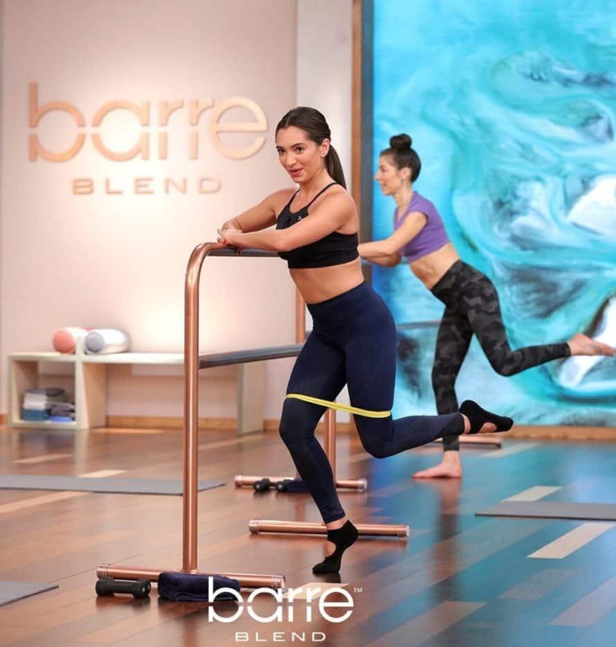 Barre Blend Workout Leg Lift