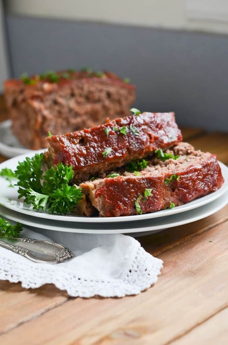 Paleo Meatloaf on a Plate is one of our favorite family Keto Ground Beef Recipes