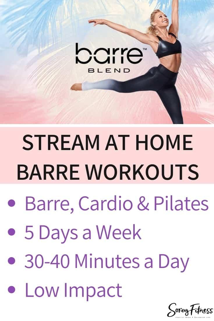 Barre Blend - Beachbody on Demand Barre Workouts