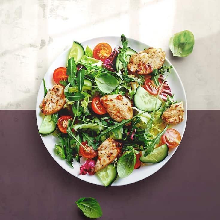 salad on the morning meltdown 100 eating plan