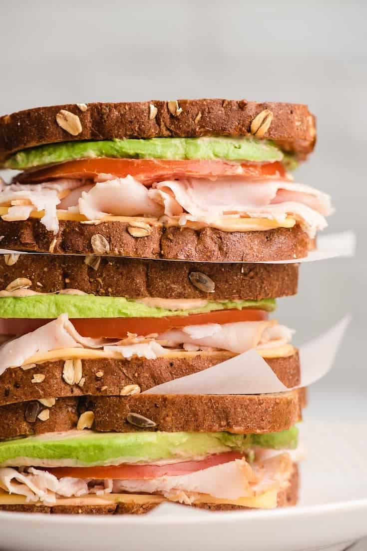 sandwich school lunch ideas