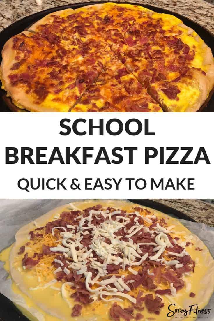 School Breakfast Pizza Recipe