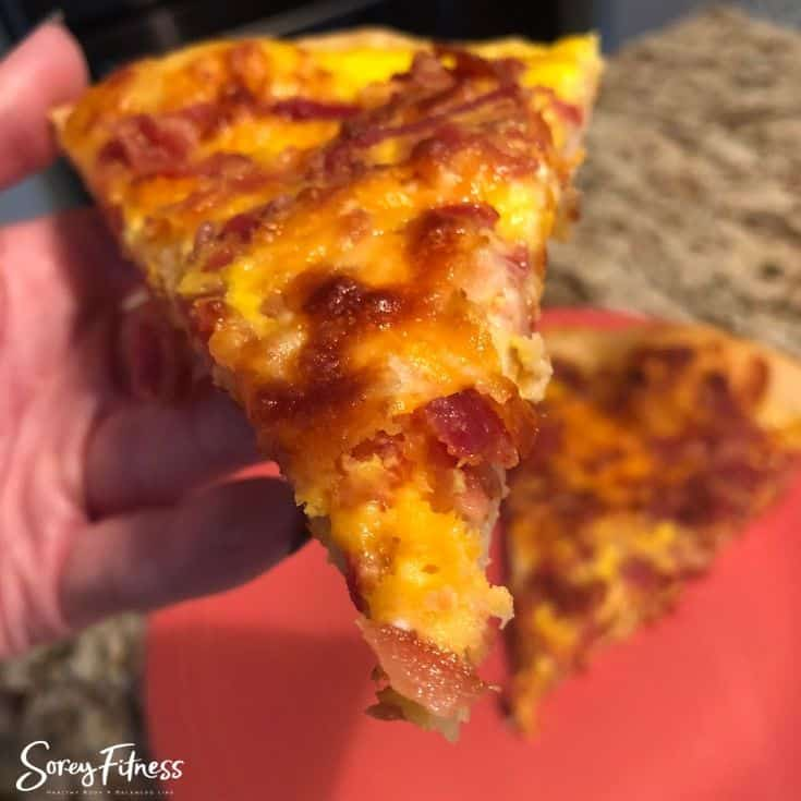 School Breakfast Pizza – Quick Bacon, Egg & Cheese Recipe