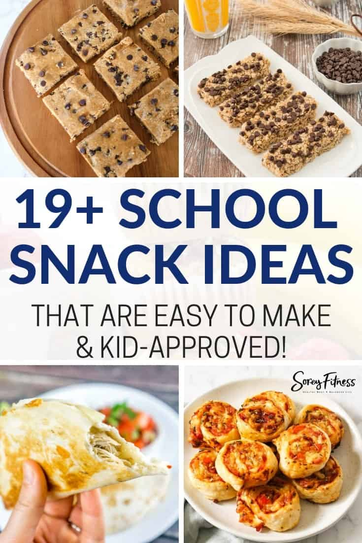 19 Easy and Delicious Snacks for School