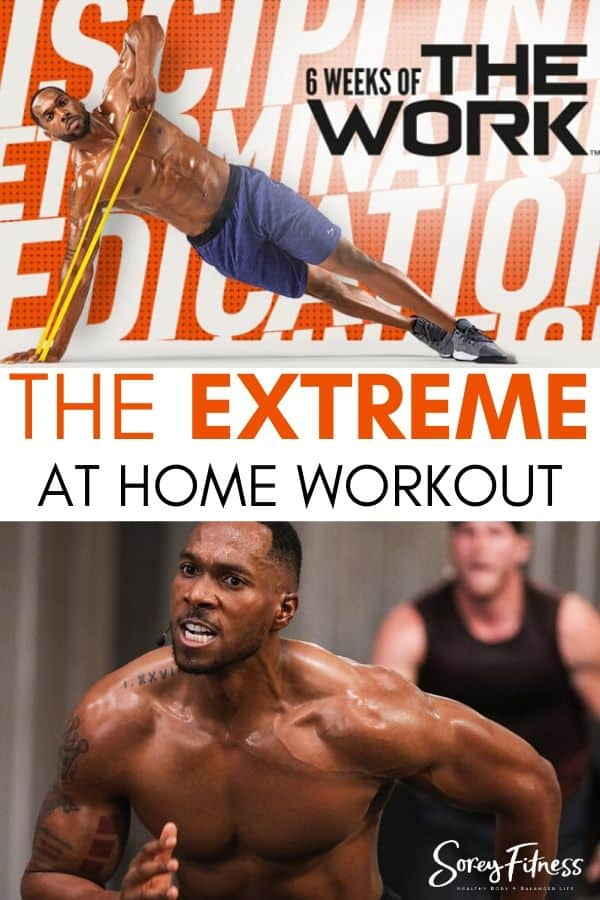 6 weeks of the work extreme workout calendar
