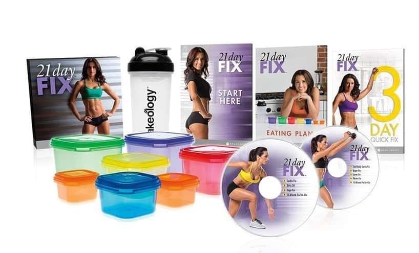 21 day fix workouts and meal plan package