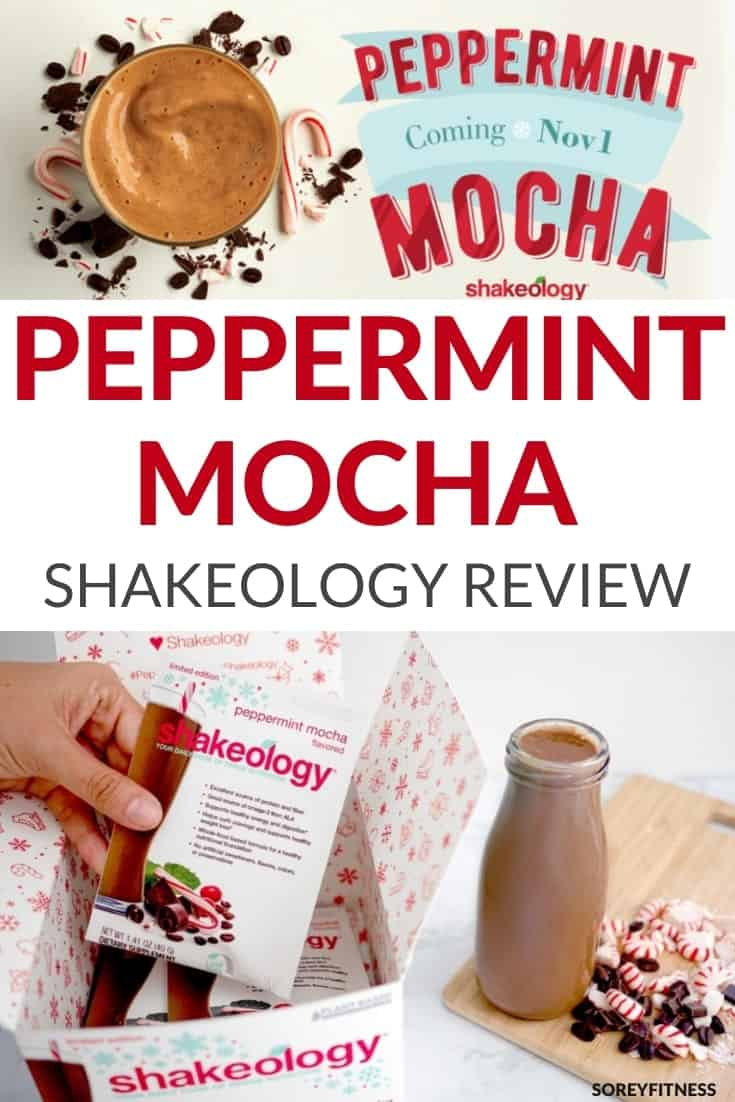 peppermint mocha shakeology review