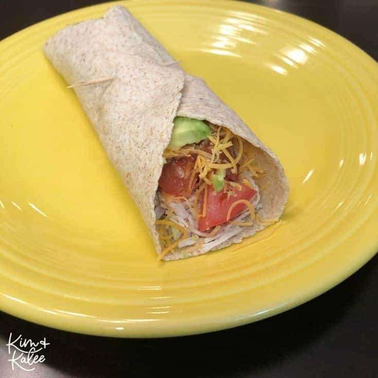 Keto Crockpot Taco Wrap