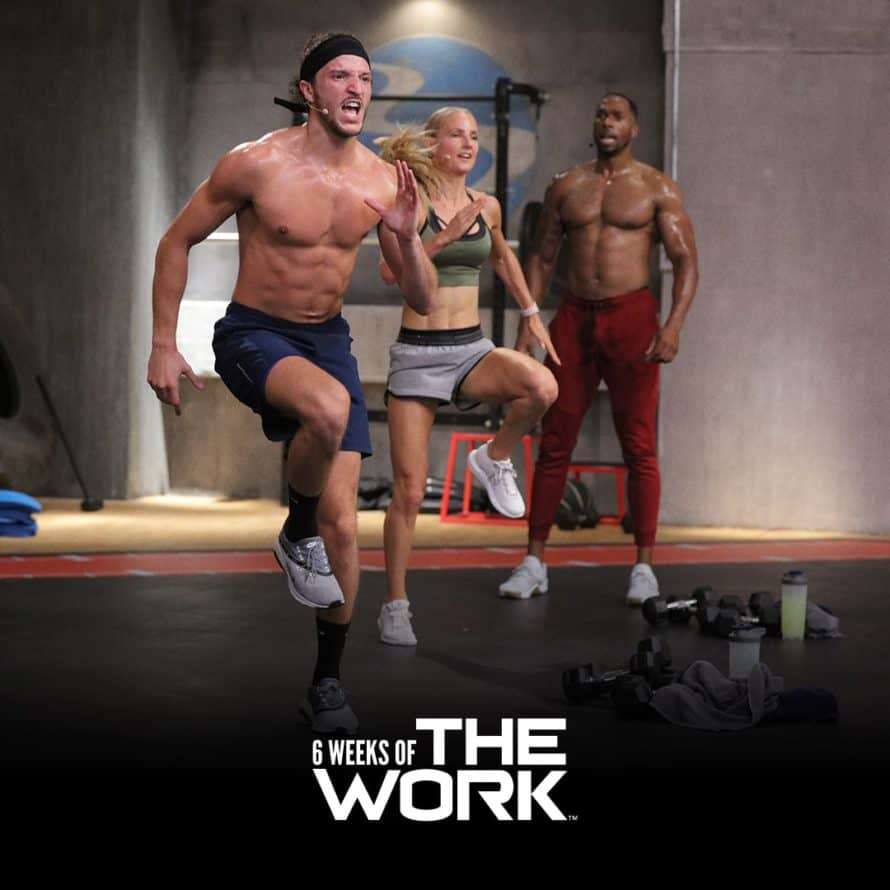6 Weeks of THE WORK cardio workout