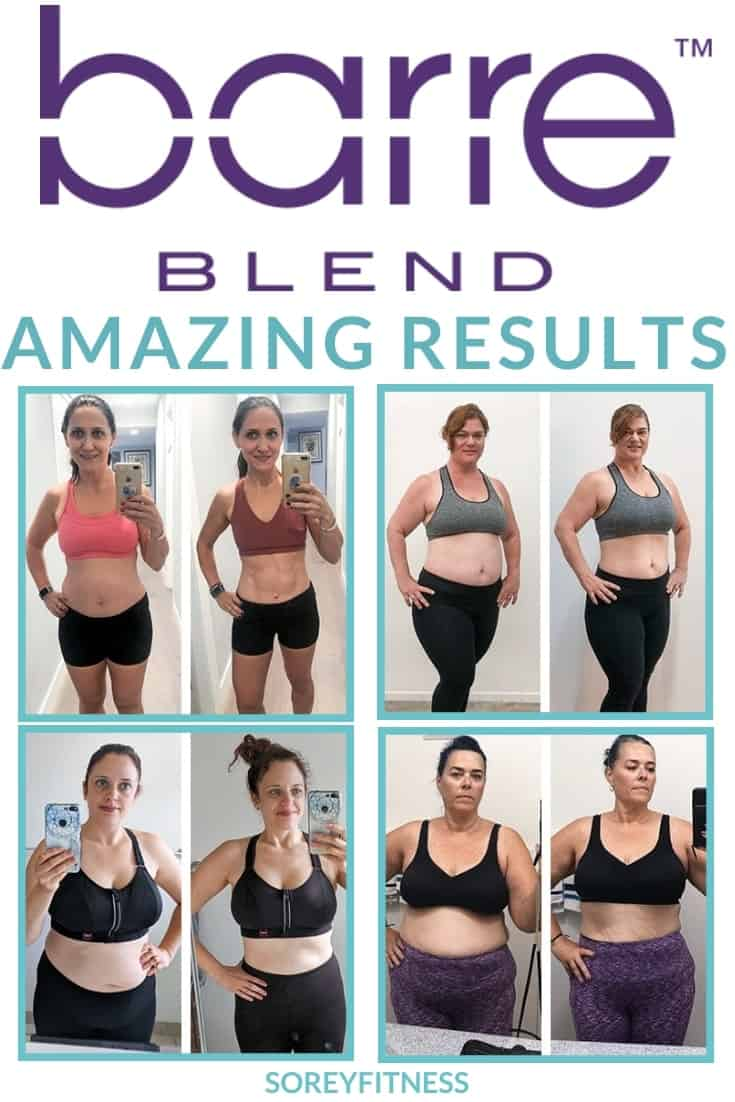 Barre Blend Before and After Photos