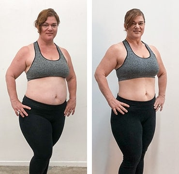 Barre Blend Before and After Photo
