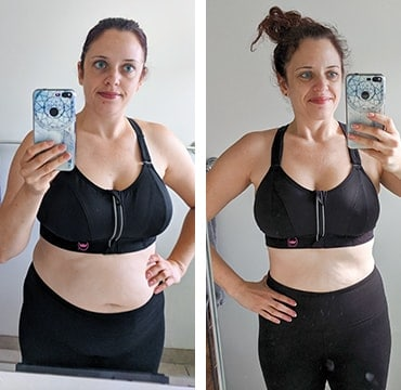 Barre Blend Before and After Picture