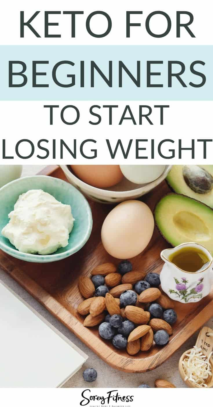 Keto for Beginners to Start Losing Weight Guide with a Food Platter