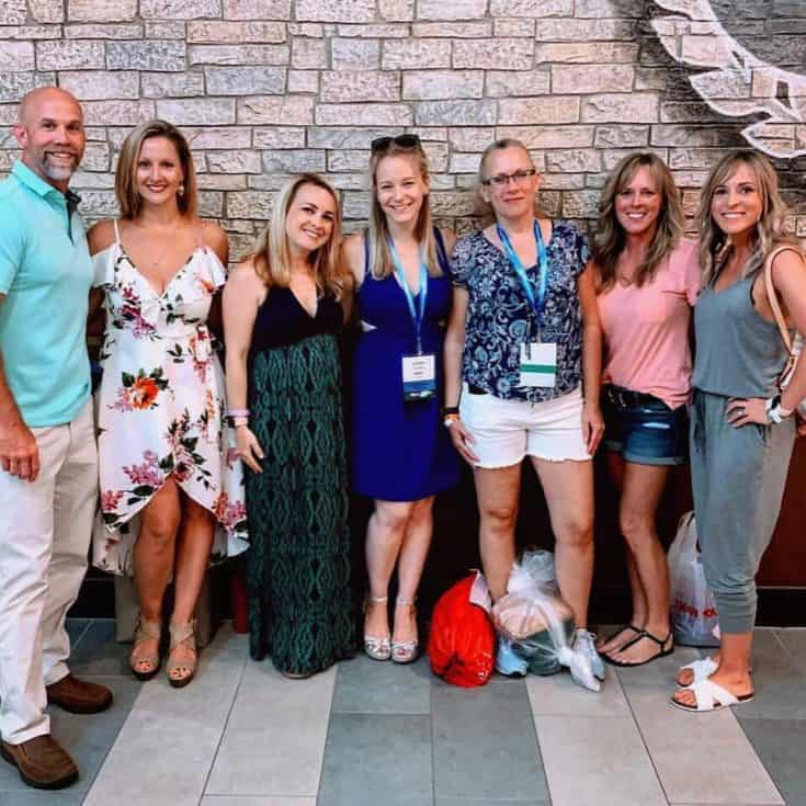 Our Team at Beachbody's Coach Summit 2019