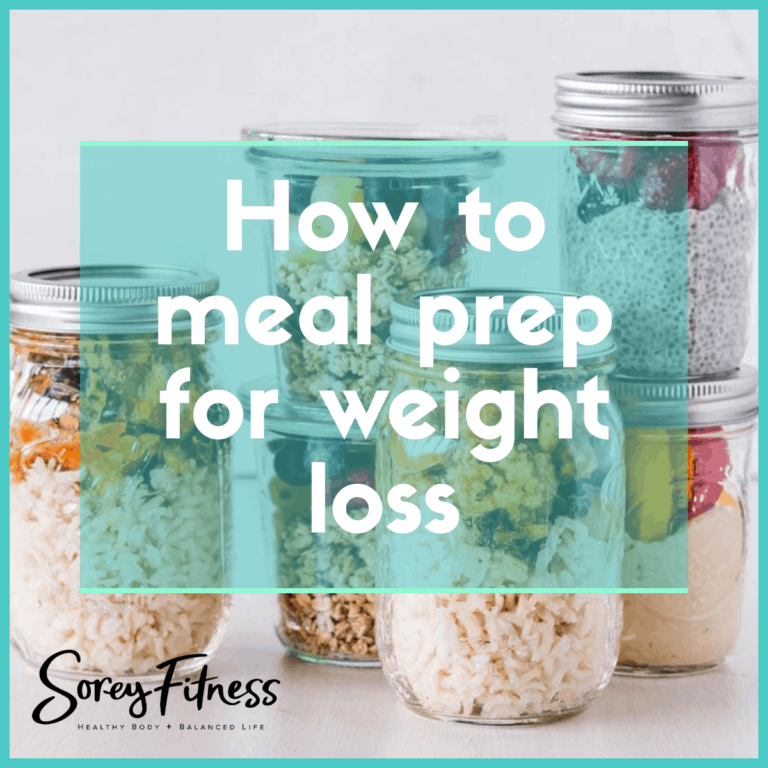 How to Meal Prep for Weight Loss in 5 Easy Steps + 40 Recipes