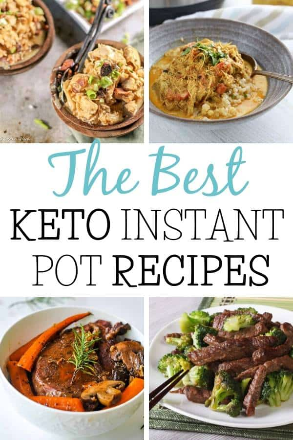 The Best Keto Instant Pot Recipes Collage
