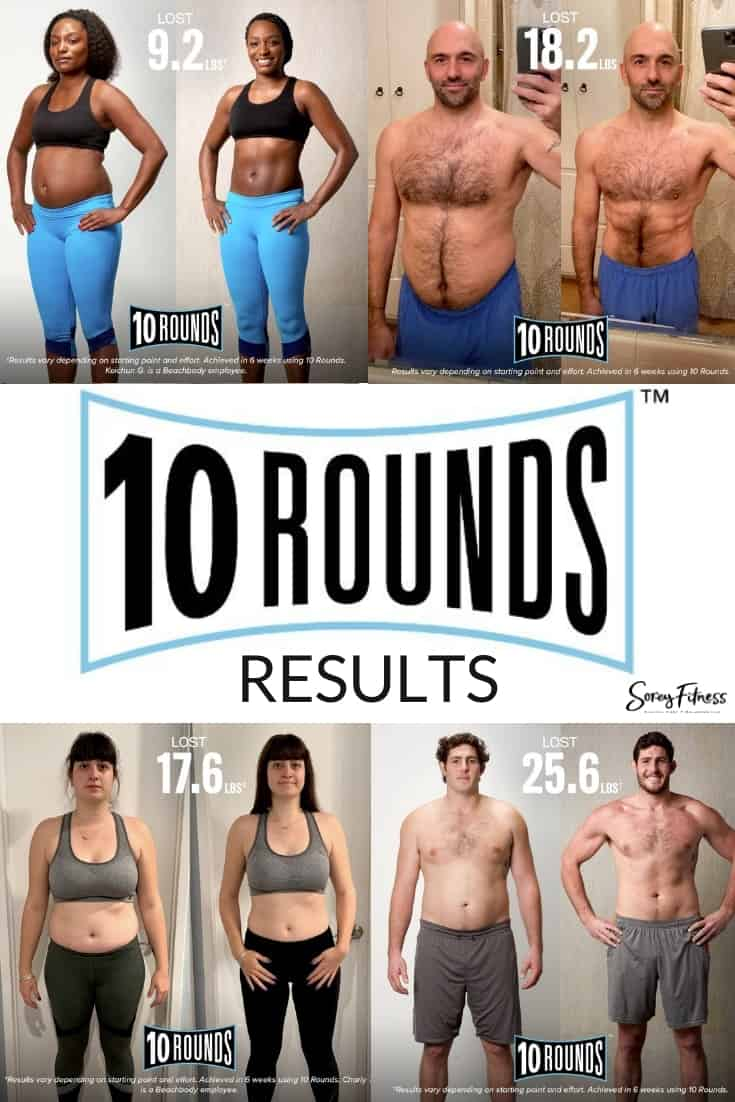 Collage of 10 rounds before and after photos